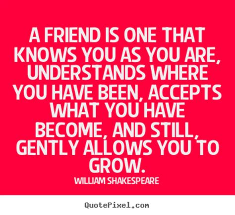Quotes About Friendship By Shakespeare