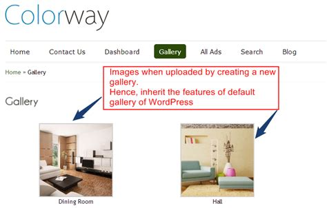 Creating Your Own Image Gallery Page Template In by Create Gallery In No Image Repetition Inkthemes