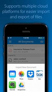 signeasy sign and fill documents pdf word excel With iphone app word documents