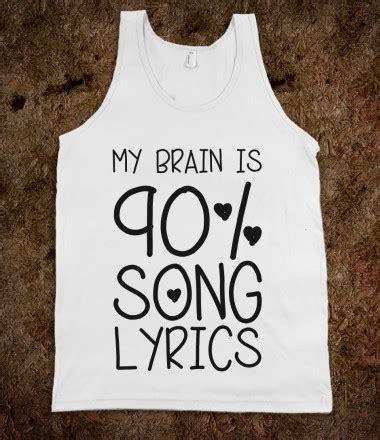 90% Song Lyrics - Stellar Shirts - Skreened T-shirts ...