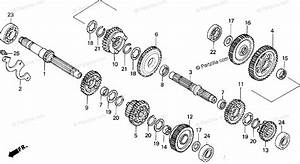 Honda Motorcycle 1996 Oem Parts Diagram For Transmission