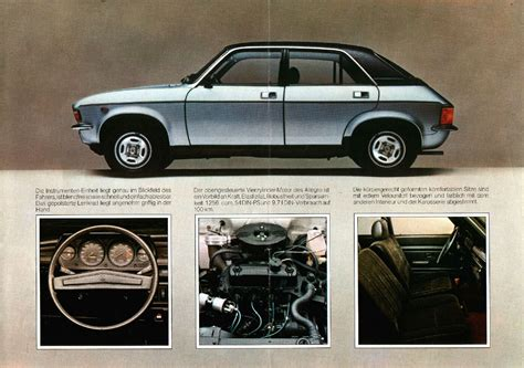 1977 Austin Allegro brochure