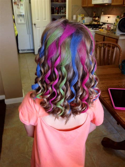 Chalking Kids Hair Fashion Fabulous Hair Hair Styles