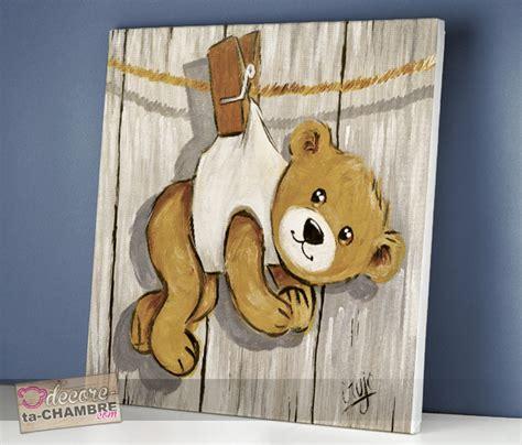 decore ta chambre tableau ourson rigolo achat cadre oursons pour enfant