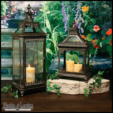 Garden Candle Lanterns by Garden Lanterns Metal Lanterns Outdoor Candle Lanterns