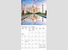 Wonders of the World Calendar 2019 Calendar Club UK