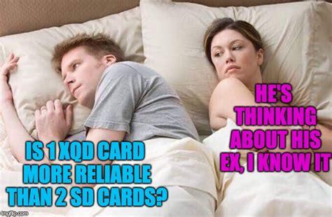 canon nikon memes sony vs meme mirrorless slots card lack eos explain perfectly war slot xqd decision dual models go