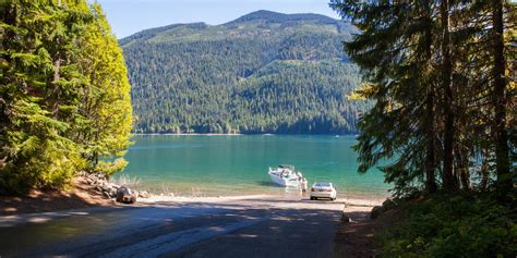 Boat Launch Lake Washington by Kachess Lake Cground Okanogan Wenatchee National