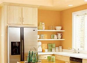 best paint colors for small kitchens decor ideasdecor ideas With best brand of paint for kitchen cabinets with gold and silver wall art