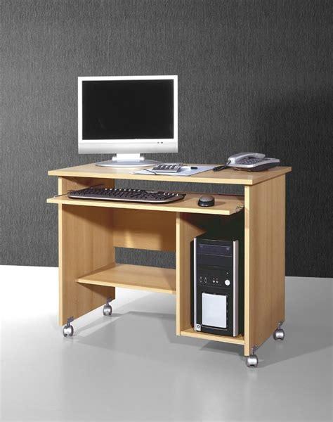 m騁ro bureau conni büro pc tisch schreibtisch computertisch in buche 90 x 72 x 48 arbeitszimmer büro praxis computertische computermöbel buche