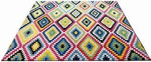Teppich wecon home fresh kelim gewebt kaufen otto for Markise balkon mit zick zack tapete