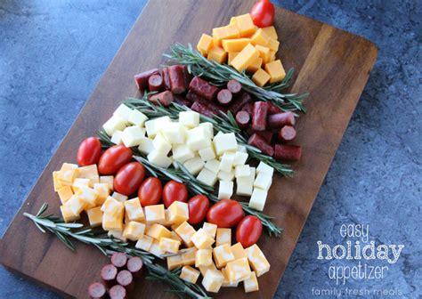 easy holiday appetizer idea familyfreshmeals com