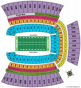 Pittsburgh Steelers Seating Chart At Heinz Field