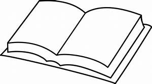 Open Book With Blank Pages Clipart (21+)