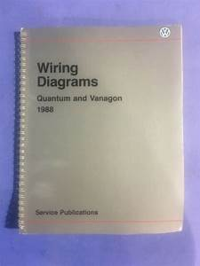 1988 Vw Quantum And Vanagon Wiring Diagrams