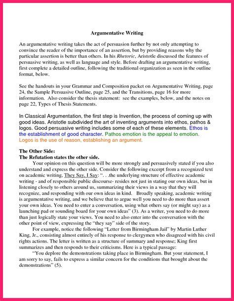 charter school essay format for writing an argumentative essay argumentative