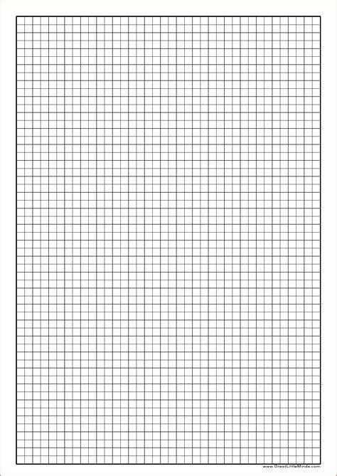 Printable Graph Paper A4 5mm  Printable 360 Degree