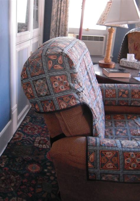 Quilted Recliner Slipcover Thing