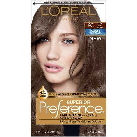 loreal paris superior preference fade defying color