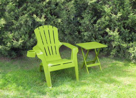 gracious living resin adirondack chair walmart ca