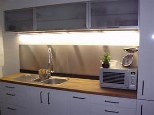 Credence Plaque De Cuisson : prix credence cuisine alu ou inox cr dences cuisine ~ Dailycaller-alerts.com Idées de Décoration