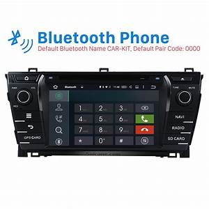 8 Inch 2013 2014 Toyota Corolla Radio Removal With Android