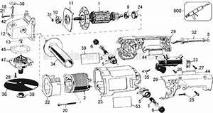 Dewalt Dw845 Parts List And Diagram