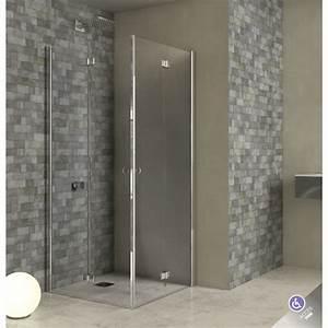 paroi de douche acces d39angle porte pliante adam robinet With paroi douche porte pliante