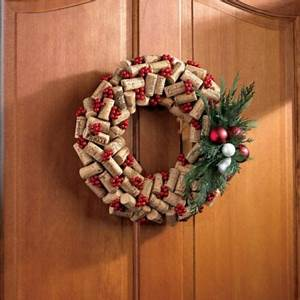 Wine Cork Christmas Wreath Grapes Gone Wild