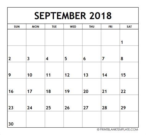 print months calendar templates