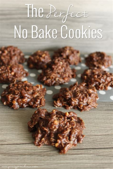 no bake cookie recipe the perfect no bake cookies