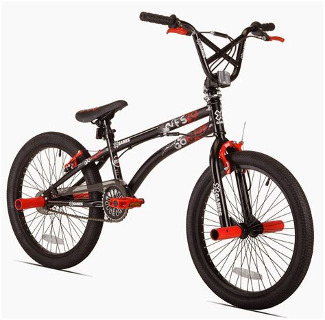 Exercise Bike Zone Xgames Fs20 Freestyle Bmx Bicycle