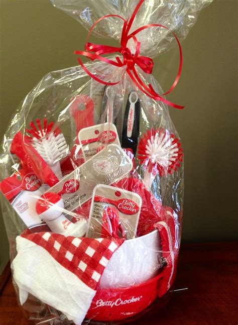 kitchen gift basket from the dollar tree good for showers