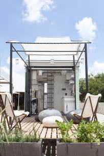 Harmonious Tiny Houseplans by The Lifepod Modern Modular Prefabricated Nano Home