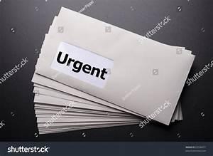 urgent delivery concept envelope letter mail stock photo With urgent letter envelopes