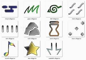 Naruto Shippuden Villages Symbols