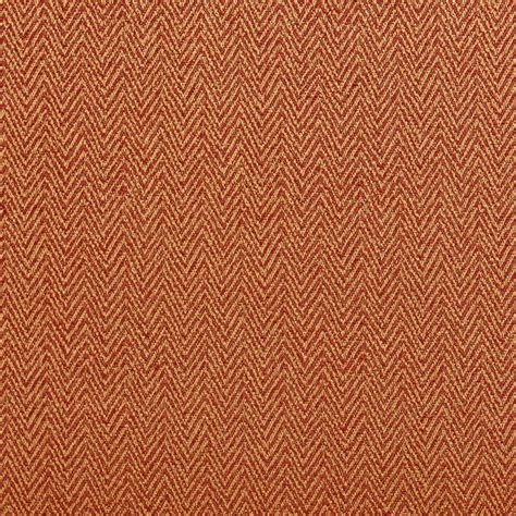 orange upholstery fabric orange and gold chevron herringbone upholstery fabric by