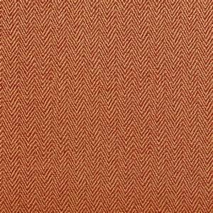 Orange and Gold Chevron Herringbone Upholstery Fabric By