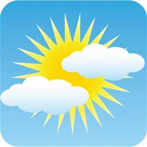 Image Gallery mostly sunny skies symbol