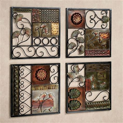 dusk  dawn metal wall art set