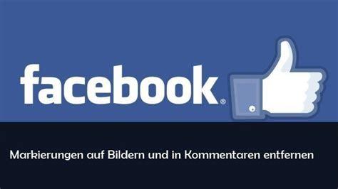 facebook markierung entfernen und bei foto kommentaren