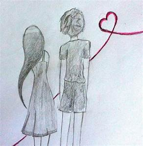 Drawing Of A Boy And Girl Drawing Of Boy And Girl Best ...