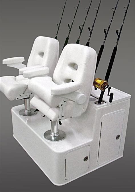Lebroc Boat Chairs by Nautical Design Will Custom Build Your Ultimate Fiberglass