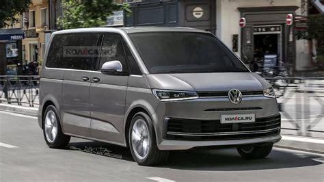 volkswagen  multivan renders shed  light