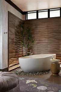 Influence asiatique pour cette magnifique residence de for Salle de bain design avec bougie décorative oriental
