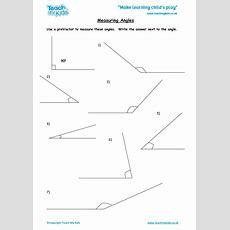 Measuring Angles  Tmk Education