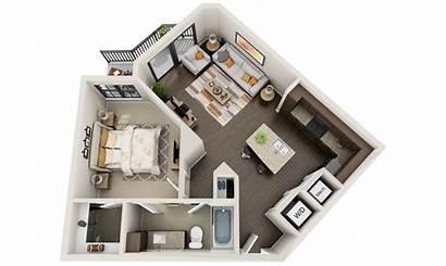 Floor 3d Plans Apartments Condo Apartment Plan