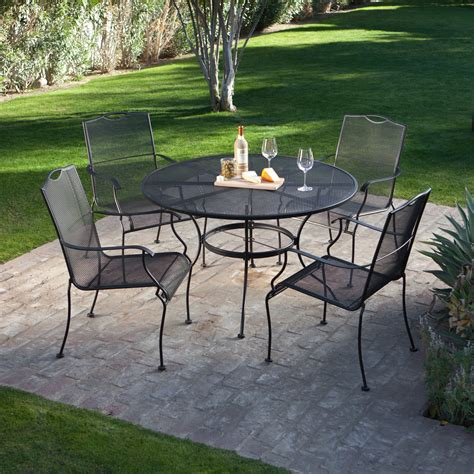 wrought iron patio furniture glides chicpeastudio