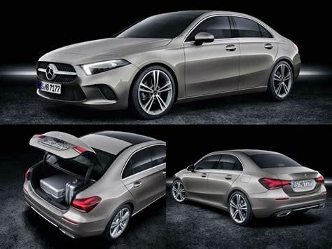 Compact Mercedes by Mercedes A Class Sedan Is A Compact Notchback Based