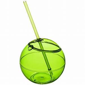 Verre Avec Paille : verre ballon fiesta avec paille publicitaire ~ Teatrodelosmanantiales.com Idées de Décoration